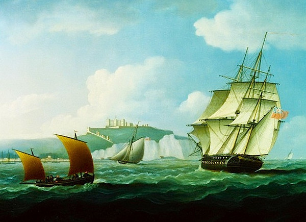 Shipping off Dover Castle 1788