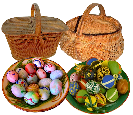 Easter Eggs & baskets