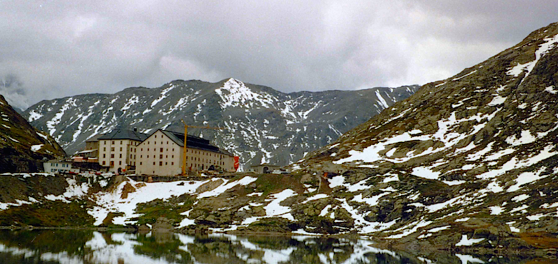 Stories told of the Great Saint Bernard Pass through Alps to Italy.