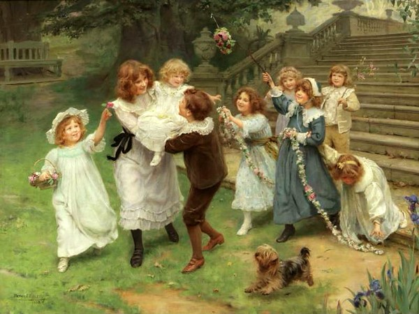 numerous children to play with Alexander