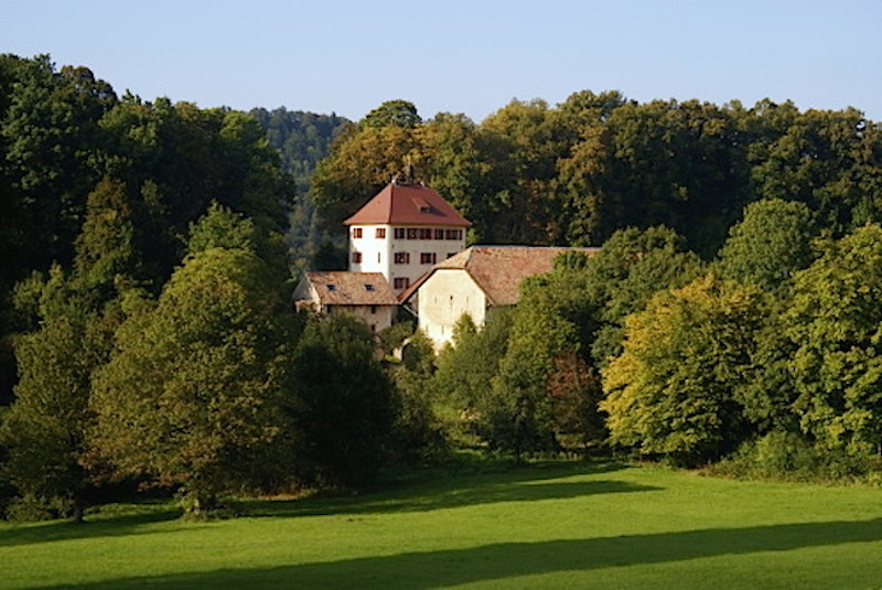 Swiss country house of Baron and Baroness Oeggl