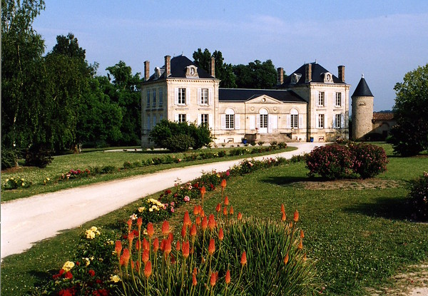 French countryside chateau