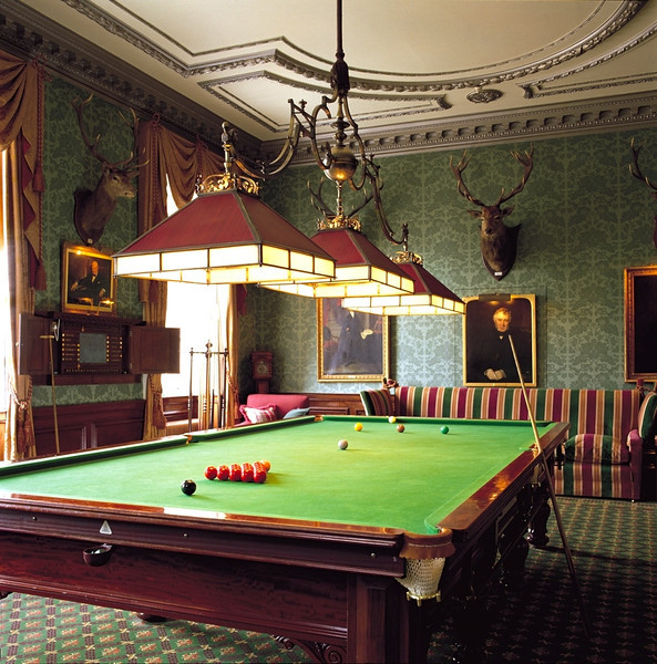 Billiard room in the Meryton pub