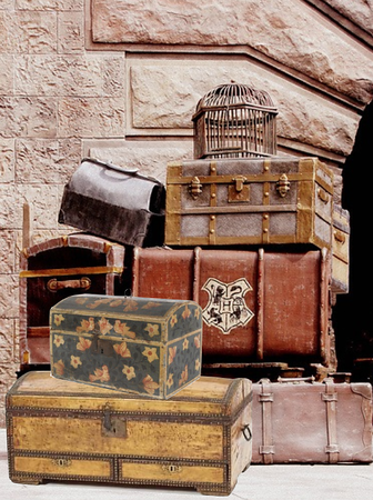 piles of luggage
