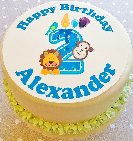 Alexander turns two on November 27 ...