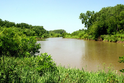 Republican River southeast of Clay Center
