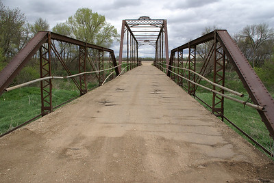 Solomon River Iron Truss bridge near Glasco, southwest Cloud County