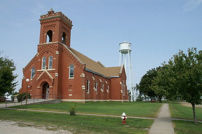 St Peter's Catholic church in Aurora