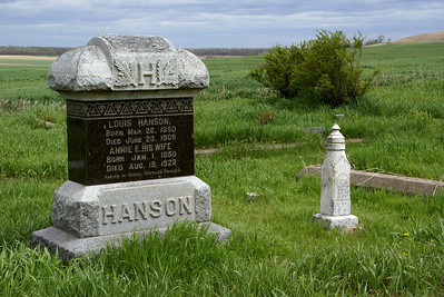Historic Danish Lutheran cemetery northwest Cloud County Kansas