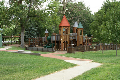Tootle Park playground equipment in Miltonvale