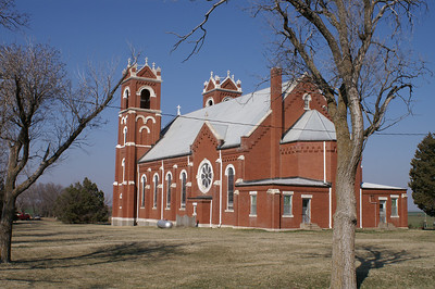 Catholic church in St Joseph