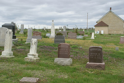 Historic Scandanavian Saron Baptist Cemetery northwest Cloud County Kansas