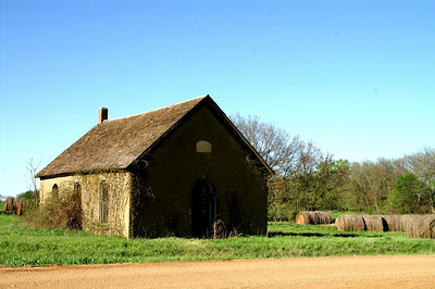 1882 abandoned church in far northeast Ellsworth County