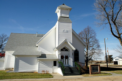 Methodist church in Webber