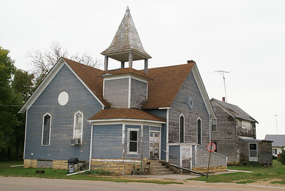 Former church in Simpson
