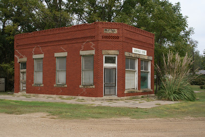 Former brick bank in Asherville