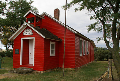 1874 Little Red Schoolhouse in Beloit