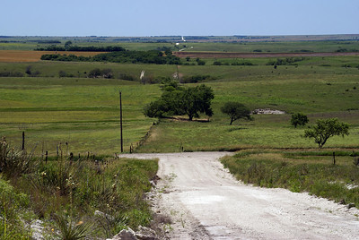 Twin Creek Scenic Backway. View west off Sand Mound.