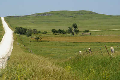 Meades Ranch area - eastern Osborne County