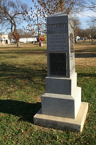 Grace Bedell / Lincoln monument - Delphos town square