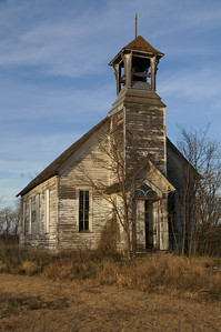 Abandoned church in Lamar area