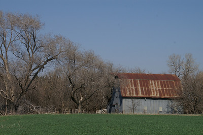 Old barn near Verdi