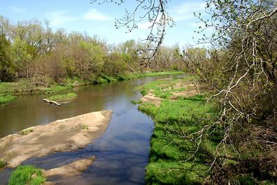Republican River near town of Republic, Republic County, Kansas