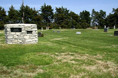 Valley Cemetery near Norway, Republic County, Kansas
