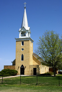Ada Lutheran Church near Kackley, Republic County Kansas