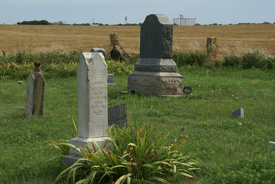 Colony Cemetery southwest of Dorrance