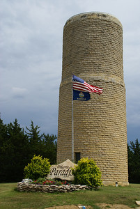 Paradise water tower
