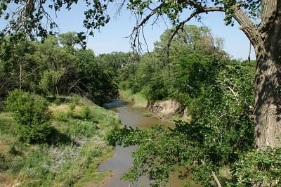 Saline River northern Saline County