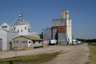 Grain elevators in Kipp