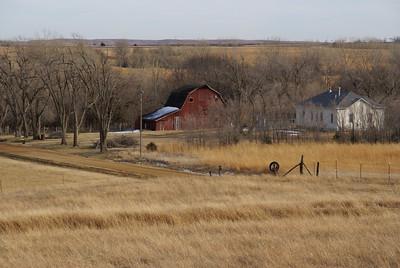 Farm in southeast Saline County