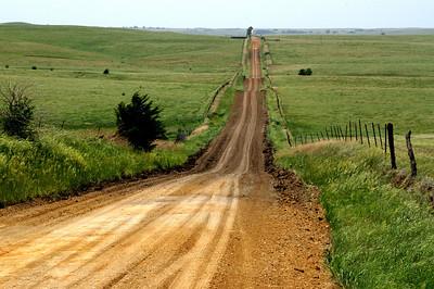 Smoky hills - western Saline County