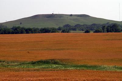 Iron Mound east of Salina