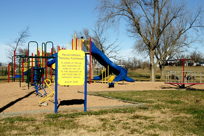 Memorial playground in Linn