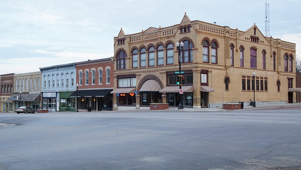 Buildings in downtown Hiawatha