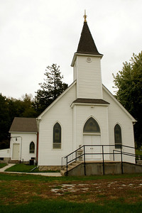 Zion Evangelical Church in rural eastern Doniphan County