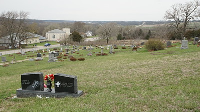 Stull Cemetery and town site