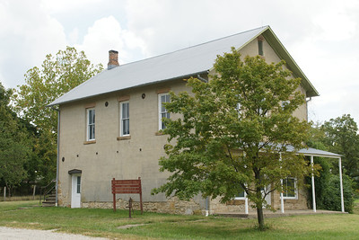 Historic Grange Hall in Vinland - central Douglas County