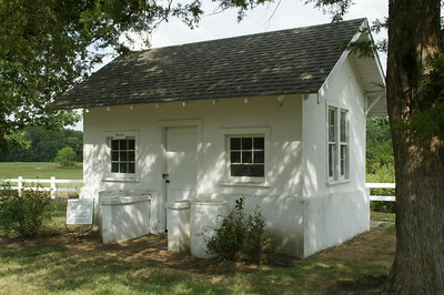 Building at Vinland Cemetery - central Douglas County