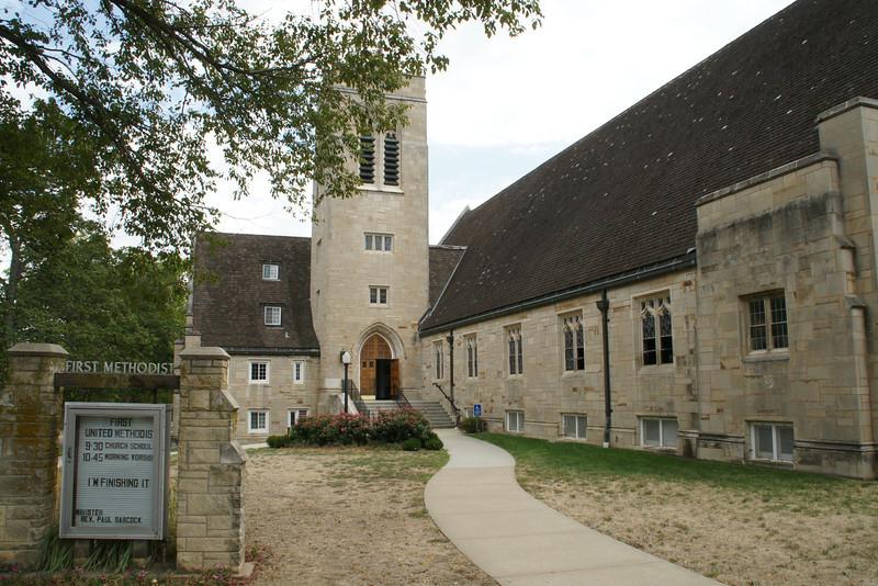 Methodist Church in Baldwin City