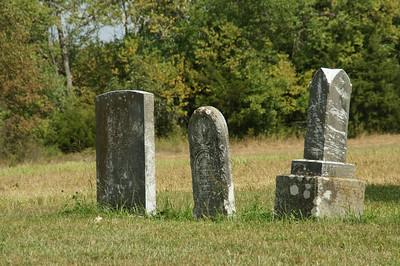 Baldwin City pioneer cemetery - southeast Douglas County
