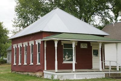 Library building in Vinland - central Douglas County