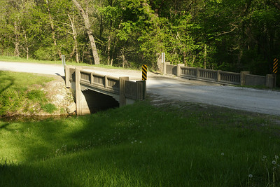 Bridge over stream near Lone Star Lake