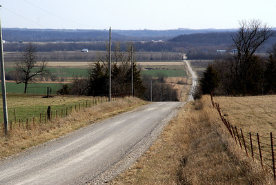 Pottawatomie Creek valley on Franklin / Anderson county line