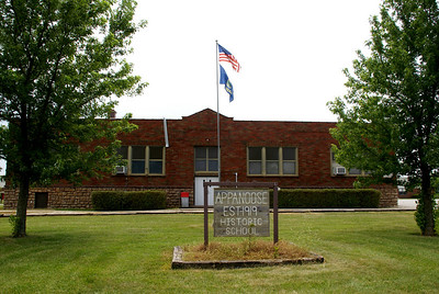 Historic Appanoose school - northwest Franklin County