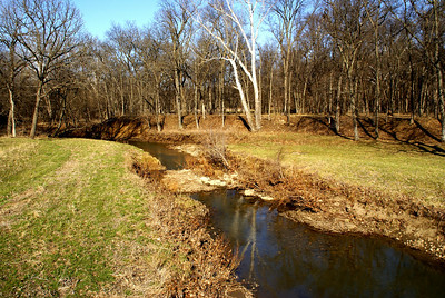 South Fork Sac Branch Creek - southeast Franklin County