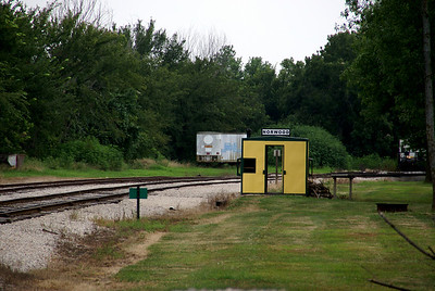 Norwood railroad stop on Midland Railroad excursion line